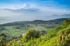 Great Rift Valley landscape, Kenya. Great Rift Valley landscape taken from Mouse Summit, Kenya Stock Image