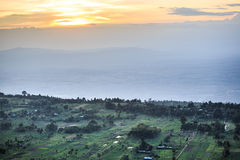 Great Rift Valley landscape, Kenya. Great Rift Valley landscape taken from Mouse Summit, Kenya Stock Photos