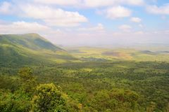Great Rift Valley. View over the Great Rift valley, Kenya, Africa Royalty Free Stock Photography