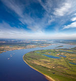 Great river Royalty Free Stock Photos
