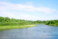 The great river Royalty Free Stock Photos