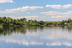 Great river Stock Photo