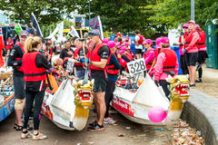 The Great River Race Royalty Free Stock Image
