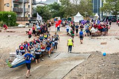 The Great River Race Stock Images