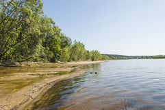 The great river Volga Royalty Free Stock Image