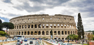 The Great Roman Colosseum Coliseum, Colosseo in Rome Royalty Free Stock Photo