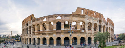 The Great Roman Colosseum Coliseum, Colosseo in Rome Royalty Free Stock Photography