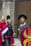 Great Roman games in Nimes, France Stock Photos