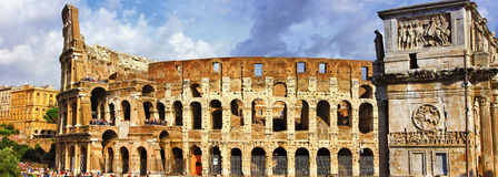 Great Rome, Colosseo Royalty Free Stock Images