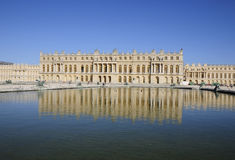 Great royal palace with reflection Stock Photo
