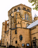 The Great Saint Martin Church at the fish market in Cologne, Germany Royalty Free Stock Photography