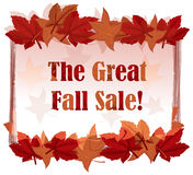 A great sale signboard Stock Photography