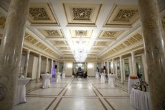 Empty reception hall Royalty Free Stock Photos