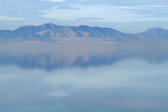 Great Salt Lake. On a calm day Stock Photos