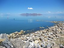 Great Salt Lake Foto de Stock Royalty Free