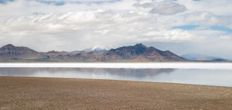Great Salt Lake Imagem de Stock