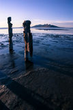 Great Salt Lake. The Great Salt Lake at low tide Stock Images