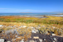 Great Salt Lake State Park Royalty Free Stock Photography