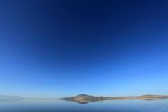 Great Salt Lake, Utah Royalty-vrije Stock Foto's