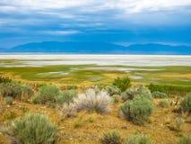 Great Salt Lake Utah lizenzfreies stockfoto