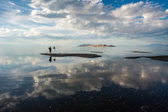 Great salt lake, Utah royalty free stock photography