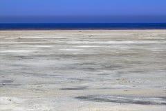 Great Salt Lake van Utah Royalty-vrije Stock Afbeelding
