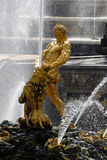 Great Samson fountain in Peterhof. Stock Photos
