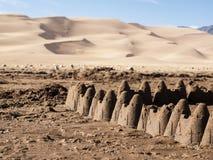 Great Sand Dunes Stock Image