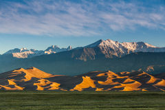 Great Sand Dunes. National Park Stock Photography