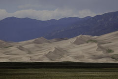 Great Sand Dunes National Park. Sand dunes at the Great Sand Dunes National Park Royalty Free Stock Images