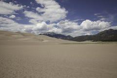 Great Sand Dunes National Park. Sand dunes at the Great Sand Dunes National Park Royalty Free Stock Photos