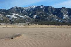 Great Sand Dunes National Park. The Great Sand Dunes National Park in Alamosa, Colorado Stock Image