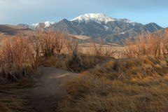 Great Sand Dunes National Park. The Great Sand Dunes National Park in Alamosa, Colorado Stock Photography