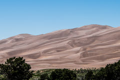 Great Sand Dunes Stock Image