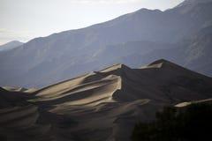 Great Sand Dunes National Park. Sand dunes at the Great Sand Dunes National Park in Colorado Stock Photos