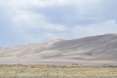 Great Sand Dunes National Park, Colorado. Great Sand Dunes National park in south central Colorado holds the tallest dunes in America Royalty Free Stock Image