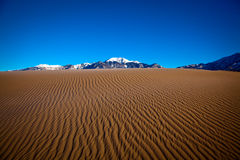 Great Sand Dunes. National Park - Colorado, USA stock images