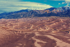 Great Sand Dunes Stock Photo