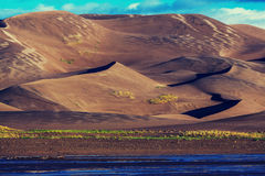 Great Sand Dunes royalty free stock images