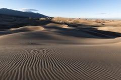 Great Sand Dunes National Park, Colorado, USA Royalty Free Stock Photo