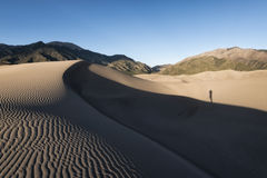 Great Sand Dunes National Park, Colorado, USA Royalty Free Stock Images