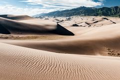 Great Sand Dunes National Park landscape Royalty Free Stock Photography