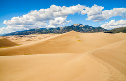 Great Sand Dunes National Park and Preserve. Great Sand Dunes National Park Sand Stock Image