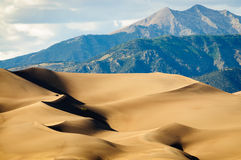 Great Sand Dunes National Park and Preserve. Great Sand Dunes National Park dunes Stock Images