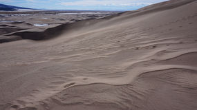 Great Sand Dunes National Park and Preserve, Colorado Royalty Free Stock Images