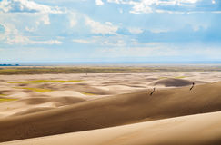 Great Sand Dunes National Park and Preserve. Great Sand Dunes National Park desert Stock Images