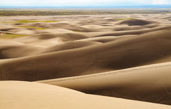 Great Sand Dunes National Park and Preserve. Great Sand Dunes National Park desert Stock Image
