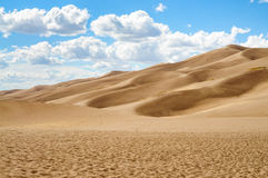 Great Sand Dunes National Park and Preserve Royalty Free Stock Image
