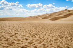 Great Sand Dunes National Park and Preserve. Great Sand Dunes National Park Desert Arid Stock Image