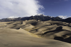 Great Sand Dunes National Park in Southern Colorado Stock Image
